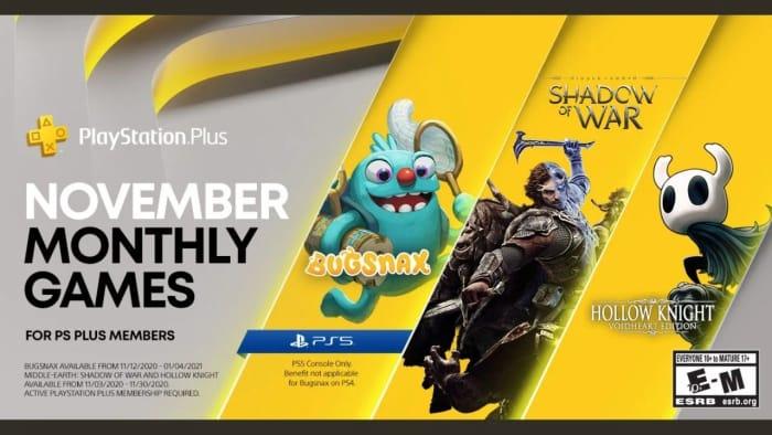 CHEAP! November PlayStation plus Games