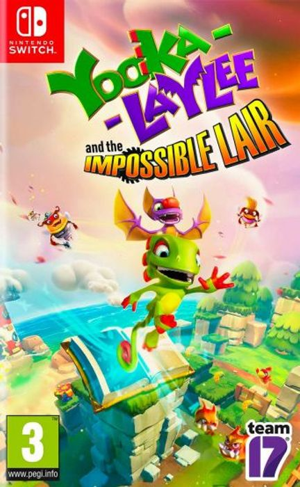Switch Yooka Laylee and the Impossible Lair £12.95 at the Game Collection
