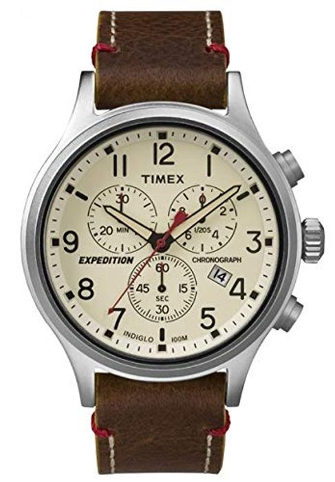 *SAVE over £50* Timex Men's Expedition Scout Chronograph 42 Mm Watch