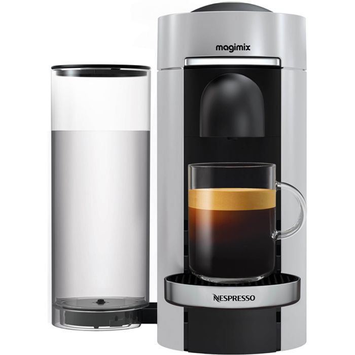 Nespresso by Magimix Vertuo plus - Silver - Only £99!