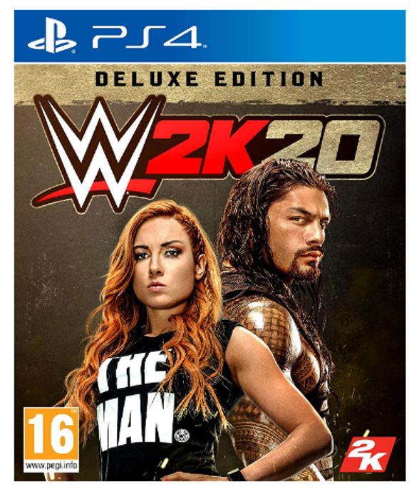 WWE 2K20 Deluxe PS4 - Only £9.99!