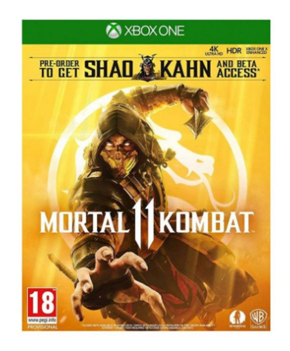 Mortal Kombat 11 with Shao Kahn Playable Character - Only £14.95!