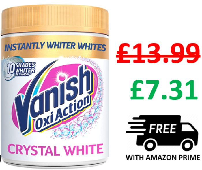 Vanish Gold Oxi Action Crystal White, 1.41 Kg - Fabric Stain Remover