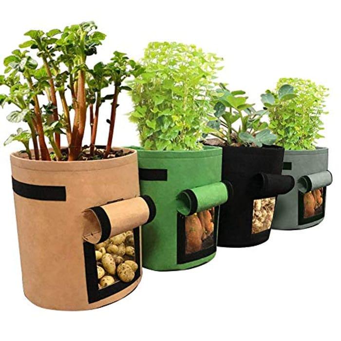 Price Drop! Potato Grow Bags- 4 Pieces