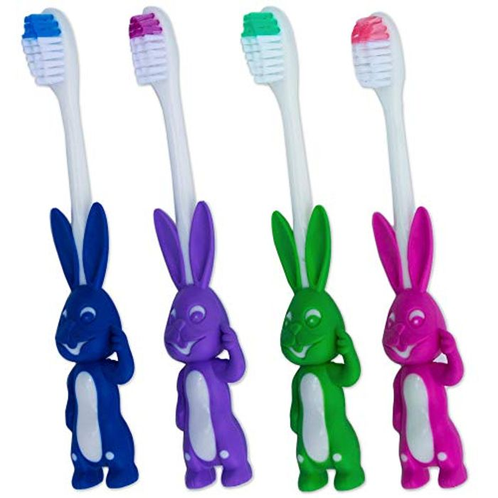 4X Bunny Toothbrushes