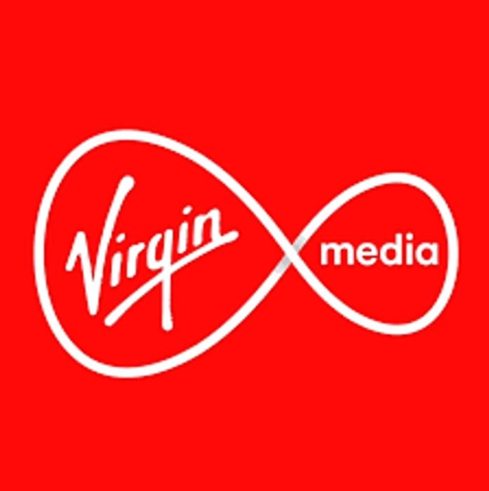 Virgin Media M100 Fibre Broadband Inc Line Rental & Weekend Calls - £17.95
