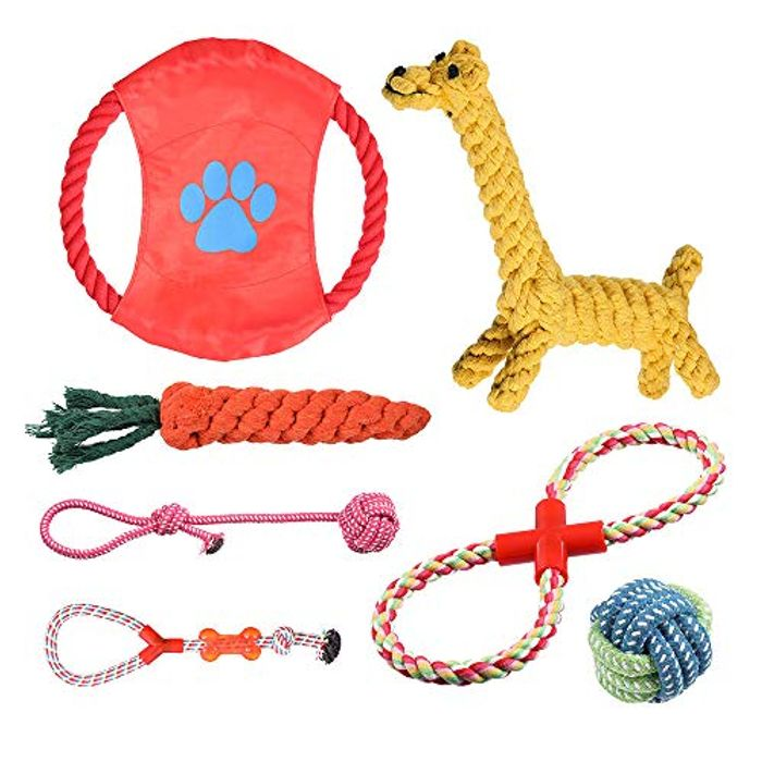 DEAL STACK - Rioddas Puppy Dog Chew Toys + 15% Coupon