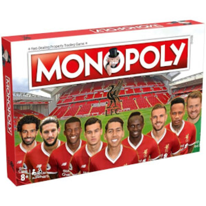 Cheap Liverpool Fc Monopoly Game at The Hut