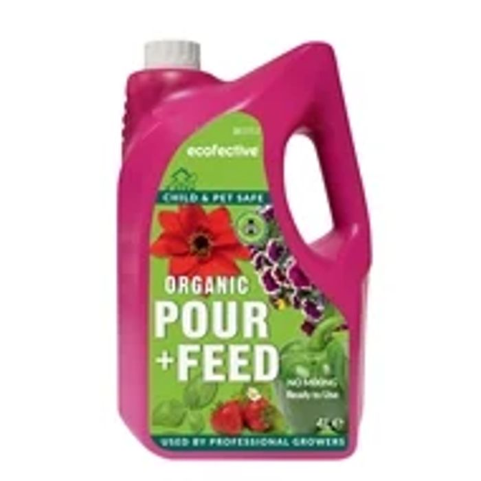 Ecofective Organic Pour & Feed Plant Food - 4L