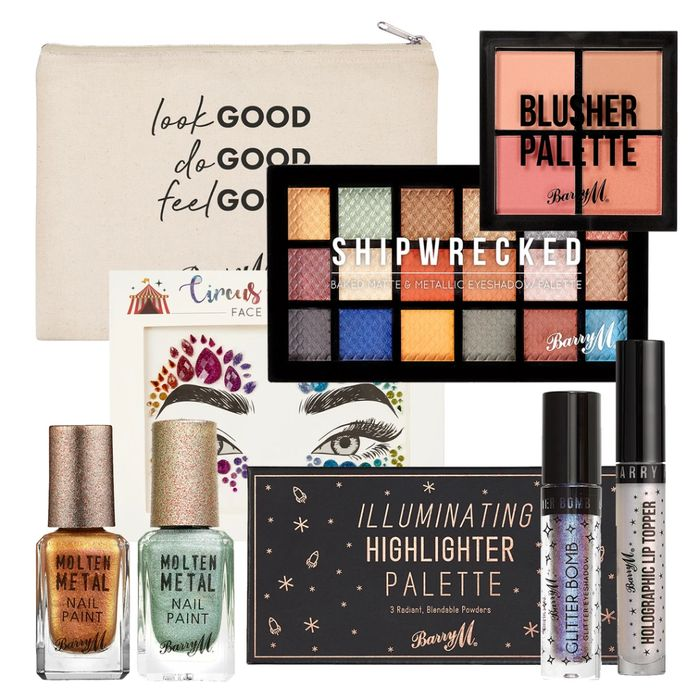 Bright Sparks Makeup Goody Bag Worth£60