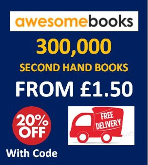 CHEAP! 300,000 Second Hand Books from £1.50 - 20% off + FREE DELIVERY