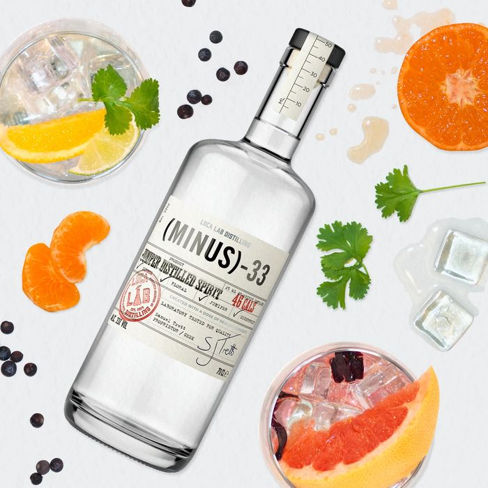 3 Bottles Of 700ml Minus 33 Low Calorie Gin - £45 Delivered