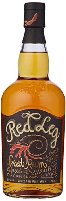 Red Leg Spiced Rum, 70cl