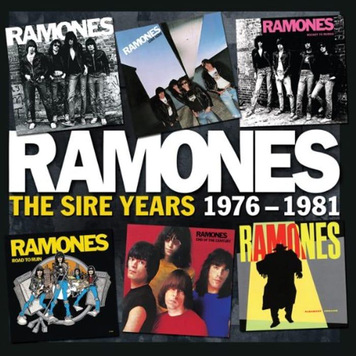 Ramones Sire Years 1976-1981 6 CD Set