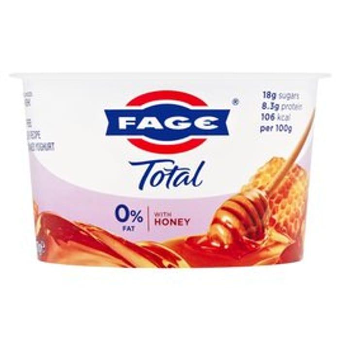 Total Greek 0% Yoghurt with Honey 170g