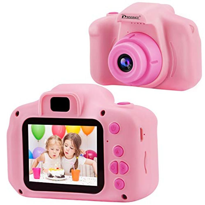 Deal Stack! PROGRACE Mini Kids Digital Camera +8GB Card