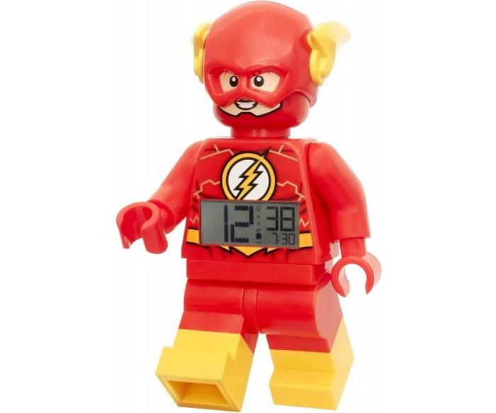 Lego the Flash Clock at Bargain Max