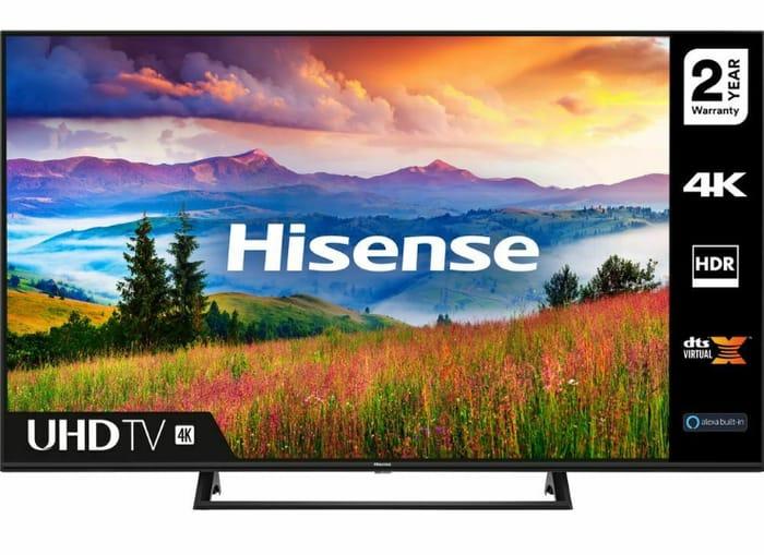 """HISENSE 55A7300FTUK 55"""" Smart 4K Ultra HD HDR LED TV - Only £379.05!"""