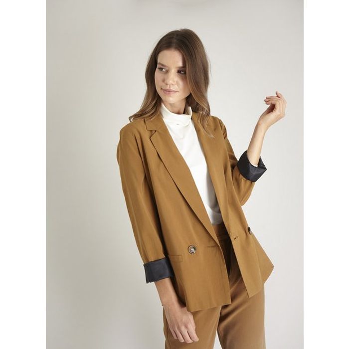 Tan Blazer - Only £12.5!