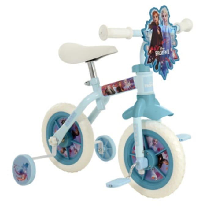Frozen 2 2in1 10 Inch Training Bike