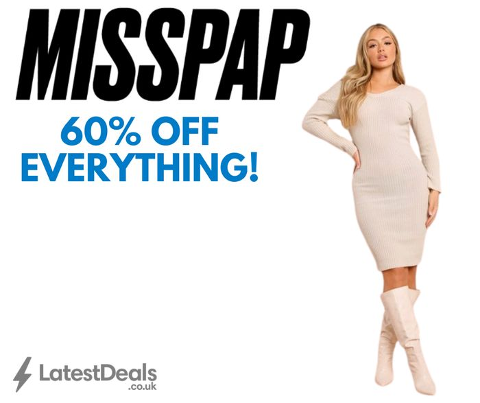 MISSPAP Payday Sale - 60% off Everything + Next Day Delivery for £1.99