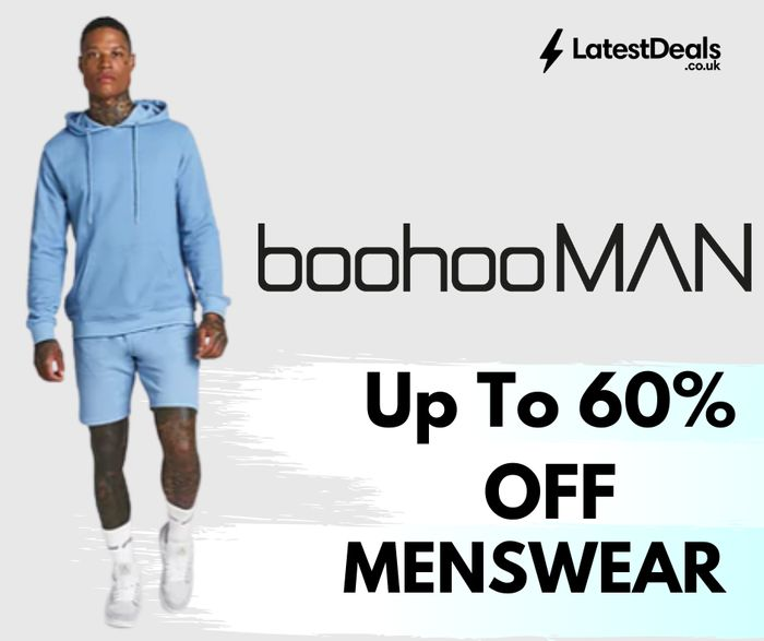 boohooMAN - Up To 60% Off Sale + Delivery for 99p