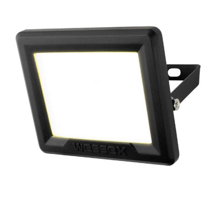 Wessex LED Floodlight IP65 10W 800lm Black - Only £8.48!