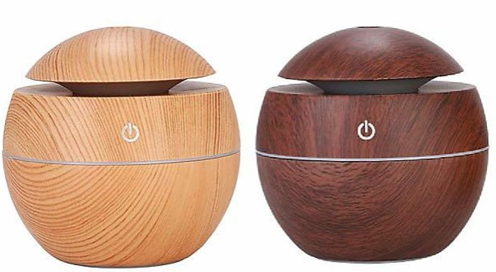 Electric Aroma Humidifier with Optional Essential Oils + EXTRA 10% Off