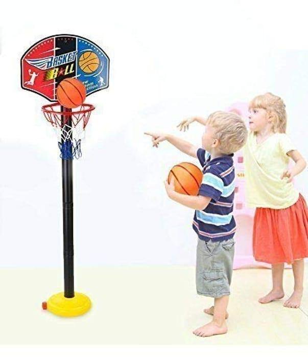 Free Standing Basketball Netball Hoop