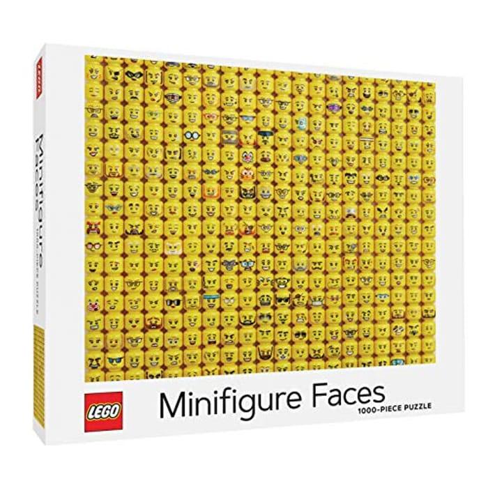 Lego Minifigure Faces Puzzle (Ideal for Xmas)