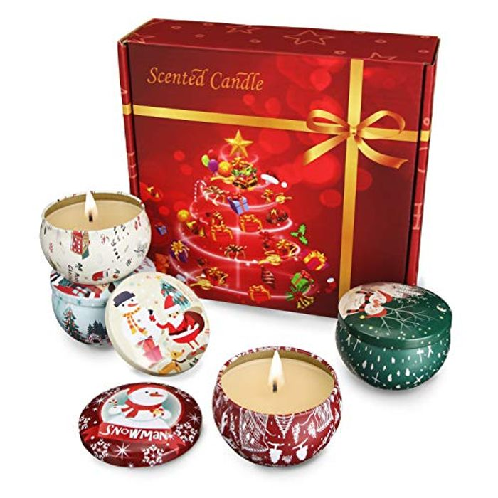 40% off Scented Candle Gift Tin