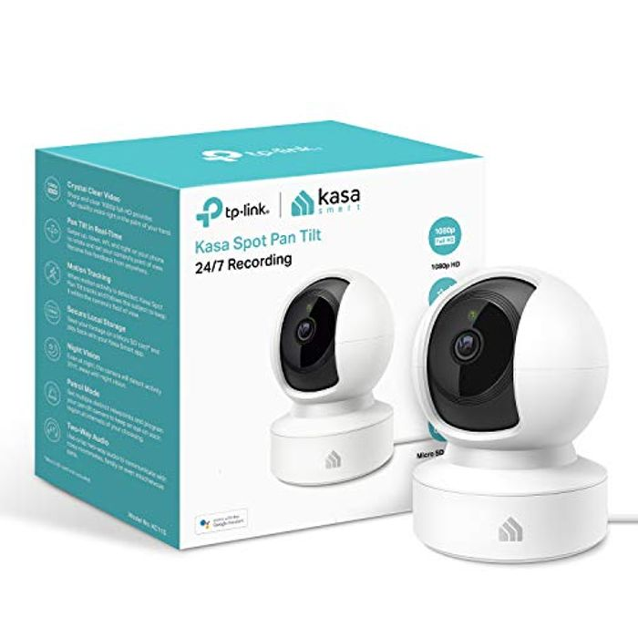 CHEAP! Smart Security Camera, Baby Monitor, 360rotational Views