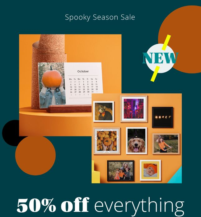Photobox - 50% Off EVERYTHING! Extended until 5th Nov