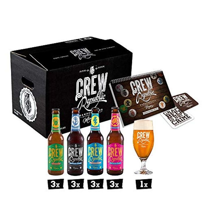 CREW Republic IPA Craft Beer Gift Mix Box