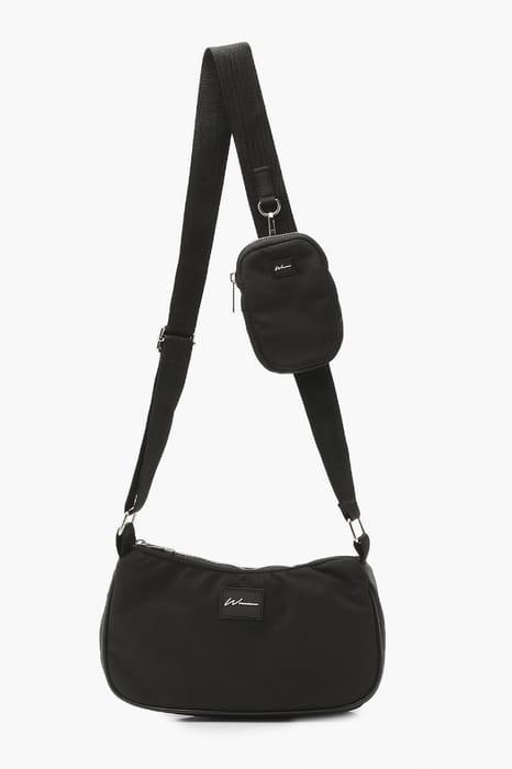 Nylon Multi Way Cross Body Bag