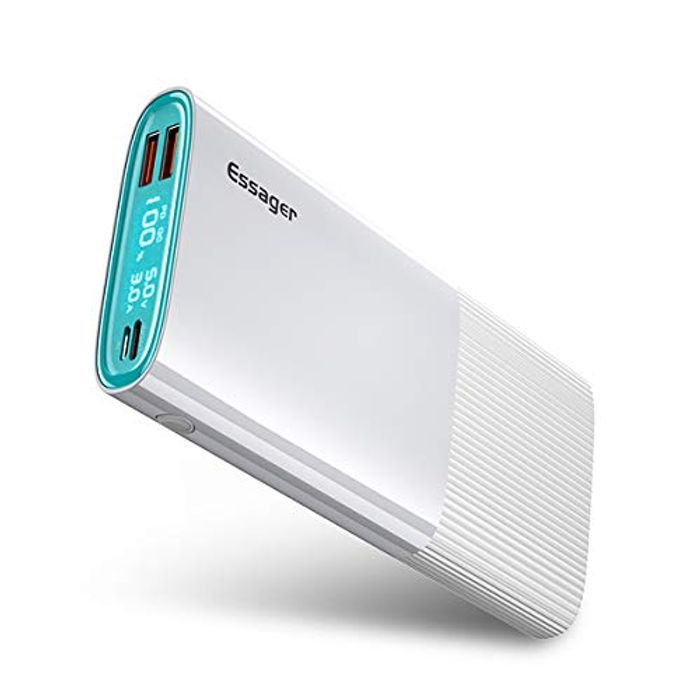 20000mAh 18W Fast Charging Portable Charge Power Bank with QC 3.0