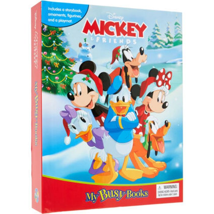 Disney Mickey & Friends My Busy Book