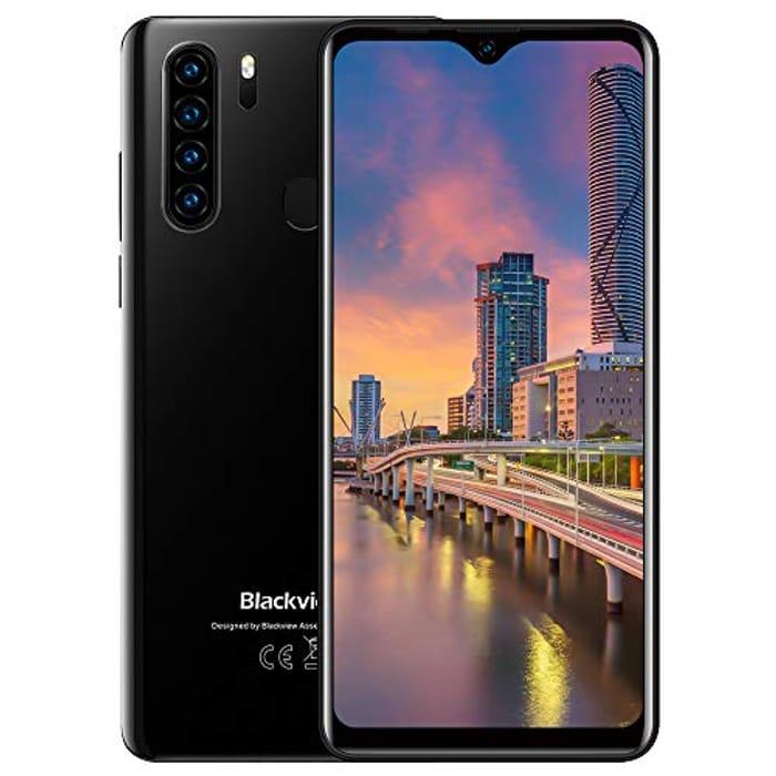 "Deal Stack Blackview A80 Pro Full-Screen Smartphone, 6.49"" HD+ Waterdrop Screen"