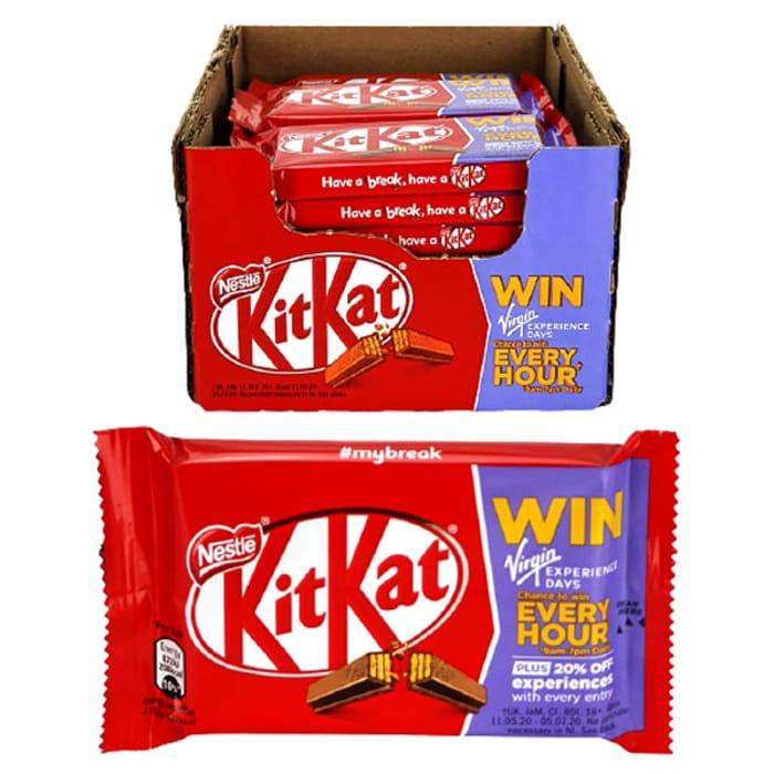 Great Value 24 X Nestle Kit Kat Four Finger Original Chocolate 41.5g Bars