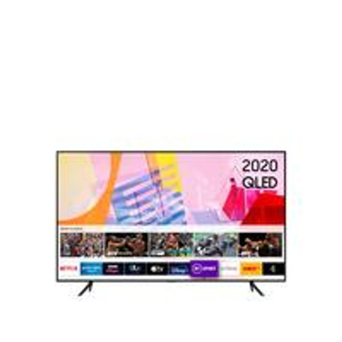 QE50Q60T 50 Inch, QLED, 4K Ultra HD, Ambient Mode, Smart TV with 20% Cashback