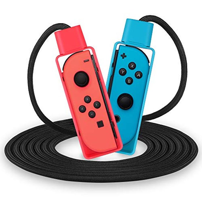 Nintendo Switch, Fitness Skipping Rope for Jump Rope Challenge Game 2020,