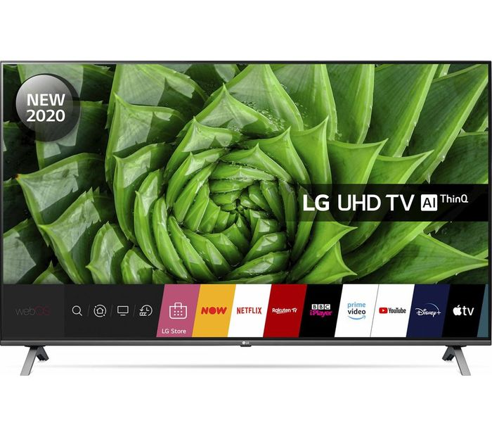 "LG 55"" Smart 4K Ultra HD HDR LED TV with Google & Alexa £499 with Code"