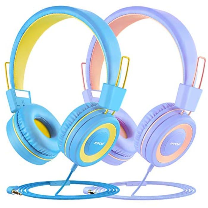 Kids Headphone, Mpows CH8 Children Headphone, 91dB Volume Limiter
