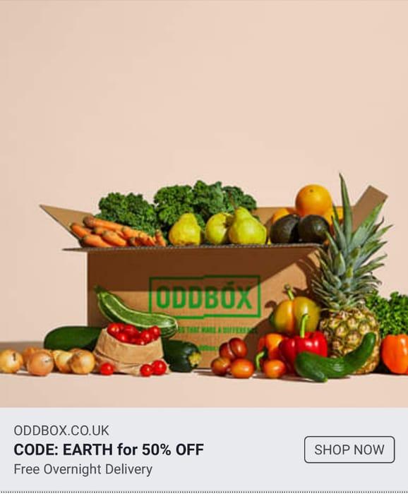 Odd Box Large Fruit & Veg Box