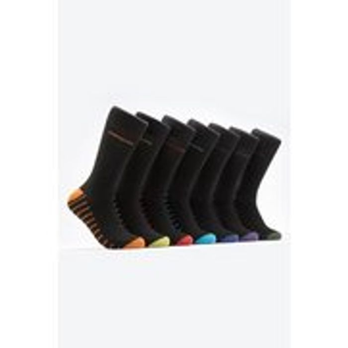 Pack of 7 Day of the Week Socks