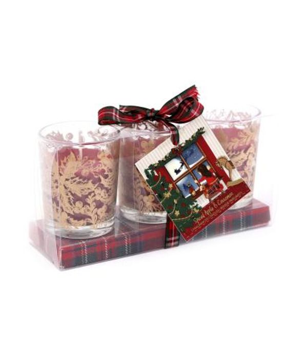 Cancer Research Triple Scented Candle Gift Set