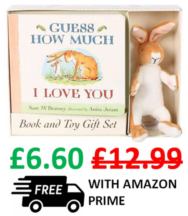 Guess How Much I Love You - Board Book & Soft Toy Gift Set **4.8 STARS**