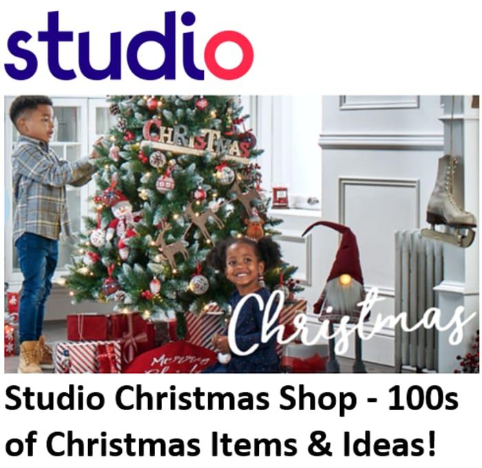 CHEAP! Studio Christmas Shop - 100s of Christmas Items & Ideas!