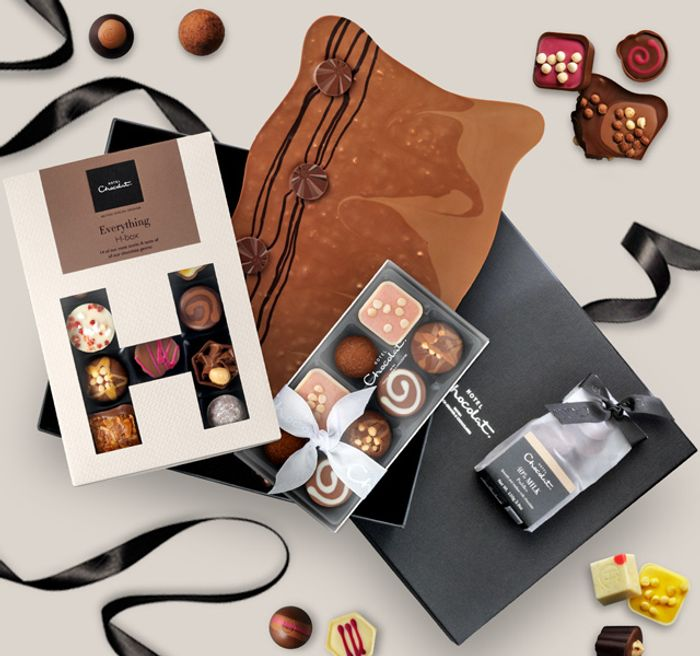 £5 off £30 Spend / £10 off £50 at Hotel Chocolat