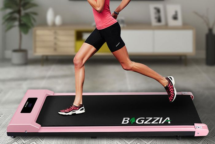Get an Electric Shock-Absorbing Treadmill.